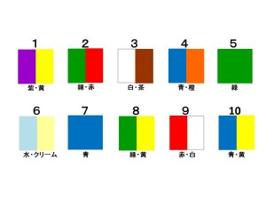 色で健康診断10パターン